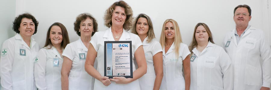 Equipe Clinilab ISO 9001