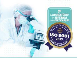 ISO 9001:2015 - Clinilab Ibitinga